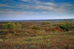 Prairie vista at Black Kettle National Grassland, autumn, near Cheyenne, Oklahoma, AGPix_0882