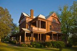 The Oaks, home of Booker T Washington, at Tuskegee Institute National Historic Site, Tuskegee, Alabama, AGPix_0965
