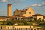 Shrine of Most Blessed Sacrament, a large Catholic church complex near Cullman, Alabama, AGPix_0975
