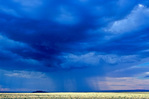 Summer thunderstorm over grasslands near Grand Falls on Navajo Nation east of Flagstaff, Arizona, AZ_15501, AGPix_1059