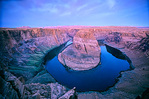 Colorado River at Horseshoe Bend below Glen Canyon Dam in Glen Canyon National Recreation Area near Page, Arizona, AGPix_1116
