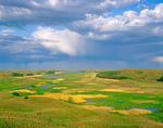 Prairie wetlands amid the Sand Hills at Valentine National Wildlife Refuge, near Valentine, Nebraska, AGPix_1131