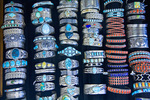 Navajo Jewelry for sale at Hubbell Trading Post National Historic Site, Navajo Indaian Reservation, Ganado, Arizona, AGPix_1142