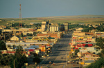 Highway 2, passing through Great Plains town of Havre, Montana, AGPix_1177