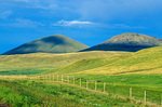 Peaks in the Bear Paw Mountains in Montana ranch country south of Chinook, Montana, USA, AGPix_1178