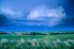 Supercell storm with tornado, over the Sand Hill country near Thedford, Nebraska, AGPix_1190