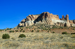 Corn Mountain, a landmark that rises near indian pueblo village of Zuni, New Mexico, AGPix_1193