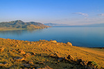Great Salt Lake at Antelope Island State Park, view at Buffalo Point, near Clearfield, Utah, AGPix_1215