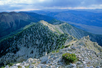 Ibapah Peak in the Deep Creek Mountains, view looking south from summit, Basin and Range topography of western Utah, AGPix_1216