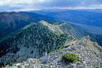 Ibapah Peak in the Deep Creek Mountains, view looking south from summit, Basin and Range topography of western Utah, AGPix_1216