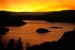 Sunset over Flaming Gorge Reservoir, at Flaming Gorge National Recreation Area, north of Vernal, Utah, AGPix_1245