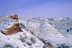 Snowy winter in the badlands of Theodore Roosevelt National Park, near Medora, North Dakota, AGPix_1262