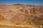 Morenci Copper Mine, largest open-pit copper mine in North America, operated by Freeport-McRan Copper & Gold, Clifton, Arizona, AGPix_1295