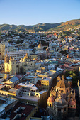 City of Guanajuato, Historic colonial silver and gold mining town in a mountain valley, Guanajuato, Mexico, AGPix_1376