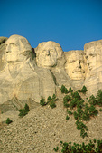 Mount Rushmore National Memorial with faces of four American presidents, carved into granite in Black Hills of South Dakota, AgPix_1414