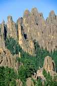 Cathedral Spires and Highway 87, The Needles Highway, in Custer State Park, in the Black Hills of South Dakota, AgPix_1416