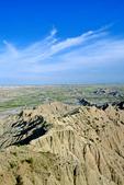 Badlands at Stronghold Table in the South Unit of Badlands National Park, South Dakota, AGPix_1440