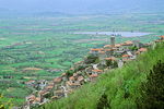 Ancient village of Poggio Bustone, above the Rieti Valley, Lazio, Italy, IT_01136, AgPix_1458