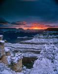 Winter sunrise at Mather Point on South Rim of Grand Canyon, Arizona, AZGCSR_01003, AGPix_1508