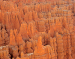 Rock spires of Silent City, view near Sunset Point at Bryce Canyon National Park, Utah, UT_02979, AGPix_1520