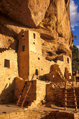 Cliff Palace, ruins of an ancient Puebloan Indian village at Mesa Verde National Park, Colorado, CO_04184, AGPix_1547