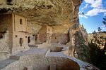 Balcony House, an ancient Puebloan indian cliff dwelling with kiva at Mesa Verde National Park, Colorado, CO_04450, AGPix_1552