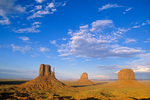 The Mittens and Merrick Buttes at Monument Valley Navajo Tribal Park, Arizona, AZ_03479, AGPix_1577