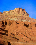 The Castle a landmark at Capitol Reef National Park, Utah, UT_07451, AGPix_1619