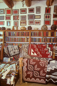 Inside the rug room at Hubbell Trading Post National Historic Site, Navajo Indian Reservation, Ganado, Arizona, AZ_04582, AGPix_1634