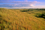 Prairie hill overlooking North Country Trail at Sheyenne National Grassland near Lisbon, North Dakota, ND_2000-00505, AGPix_1637