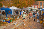 Vendors and shopers at the Annual Fall Arts & Craft Festival, in the historic Mississippi River town of McGregor, Iowa, _MG_23495, AGPix_1695
