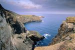 Rocky Pacific coast on north side of Santa Barbara Island, Channel Islands National Park, California, AGPix_1715