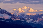Mount Fairweather at sunrise view from Glacier Bay National Park, Alaska, AGPix_1729