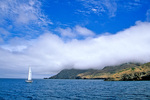 Sailing off Santa Cruz Island at Cueva Valdez, Channel Islands National Park, California, AGPix_1744
