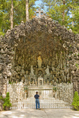 Ave Maria Grotto, on grounds of St. Bernard Abbey, Cullman, Alabama, AGPix_1752