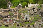 Ave Maria Grotto, on grounds of St. Bernard Abbey, miniature models of historic buildings, Cullman, Alabama, AGPix_1753