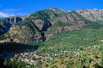 Ouray, Historic mining town in San Juan Mountains, along Highway 550, The Million Dollar Highway, Colorado, USA, AGPix_1763