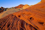 Valley of Fire State Park, colorful Aztec sandstone, northeast of Las Vegas, Nevada, USA, AGPix_1771 
