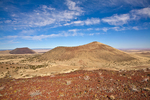 Volcanic cinder cones of San Francisco Volcanic Field, view from Red Hill with SP Crater on left, north of Flagstaff, Arizona, AGPix_1786