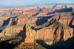 Mount Hayden viewed from Point Imperial on North Rim of Grand Canyon National Park, Arizona, AGPix_1833