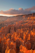 Sunrise at Bryce Amphitheater views from Sunset Point at Bryce Canyon National Park, Utah, AGPix_1895