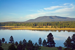 Mormon Mountain and Upper Lake Mary in Coconino National Forest, south of Flagstaff, Arizona, AGPix_1904