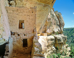 Eagle Nest House, ruins of an ancient Puebloan cliff dwelling in the Ute Mountain Tribal Park near Cortez, Colorado, USA, AGPix_1948