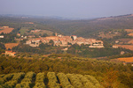 Piegaro, a hilltop village amid the rural Umbrian landscape, Province of Perugia, Umbria, Italy, AGPix_1994
