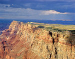 Palisages of the Desert, viewed from South Rim at Desert View, Grand Canyon National Park, Arizona, USA, AGPix_2014