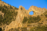 Lexington Arch in Lexington Canyon, Great Basin National Park, Nevada, USA, AGPix_2019