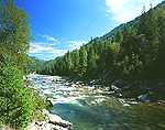 Lochsa River & Clearwater Mountains, Idaho