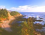 Pacific Ocean & Cape Arago State Park, Oregon