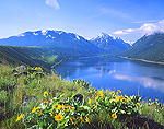 Wallowa Lake & Lateral Moraine