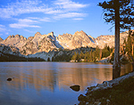 Alice Lake & Sawtooth Range, Idaho